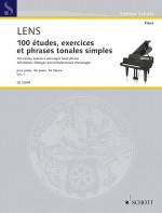 100 études, exercices et phrases tonales simples