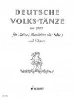Deutsche Volkstänze um 1800
