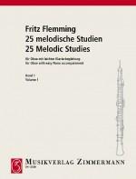 25 melodische Studien