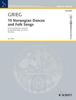15 Norwegian Dances and Folk Songs