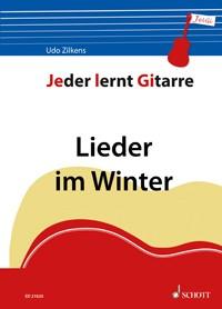 Jeder lernt Gitarre - Lieder im Winter