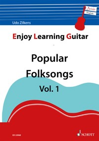Enjoy Learning Guitar - Popular Folksongs