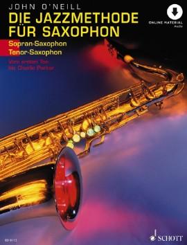 Die Jazzmethode für Saxophon - MP3-Pack