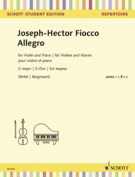 Allegro G-Dur - MP3-Pack