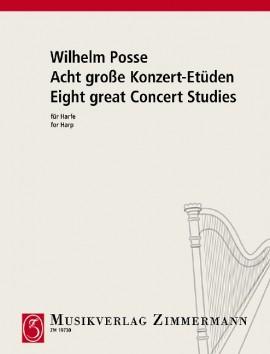Acht große Konzert-Etüden