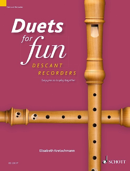 Duets for fun: Descant Recorder
